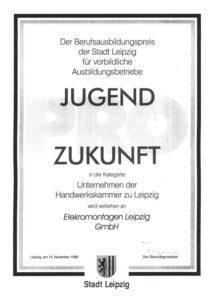 Berufsausbildungspreis 1998