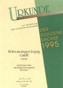 Der Goldene Sachse 1995