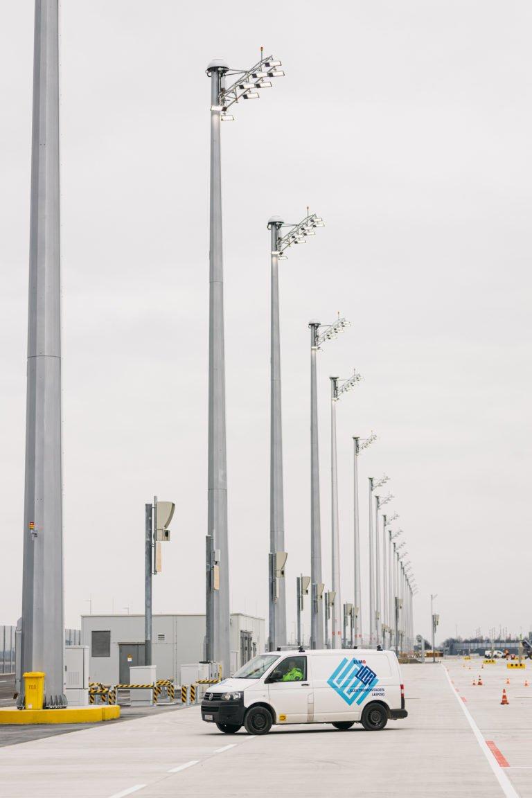 Vorfeldbeleuchtung Flughafen München